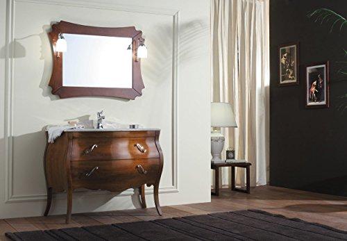 Dafnedesign.com - Mobile da bagno classico - Vanity 03 Misura: L.106 ...