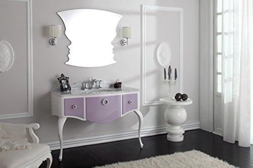 Dafnedesign.com - Mobile da bagno con cassetti e specchio - Glam ...