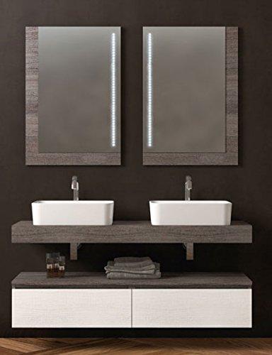 Dafnedesign.com - Mobile da bagno, specchio con luci a led, cassetti ...