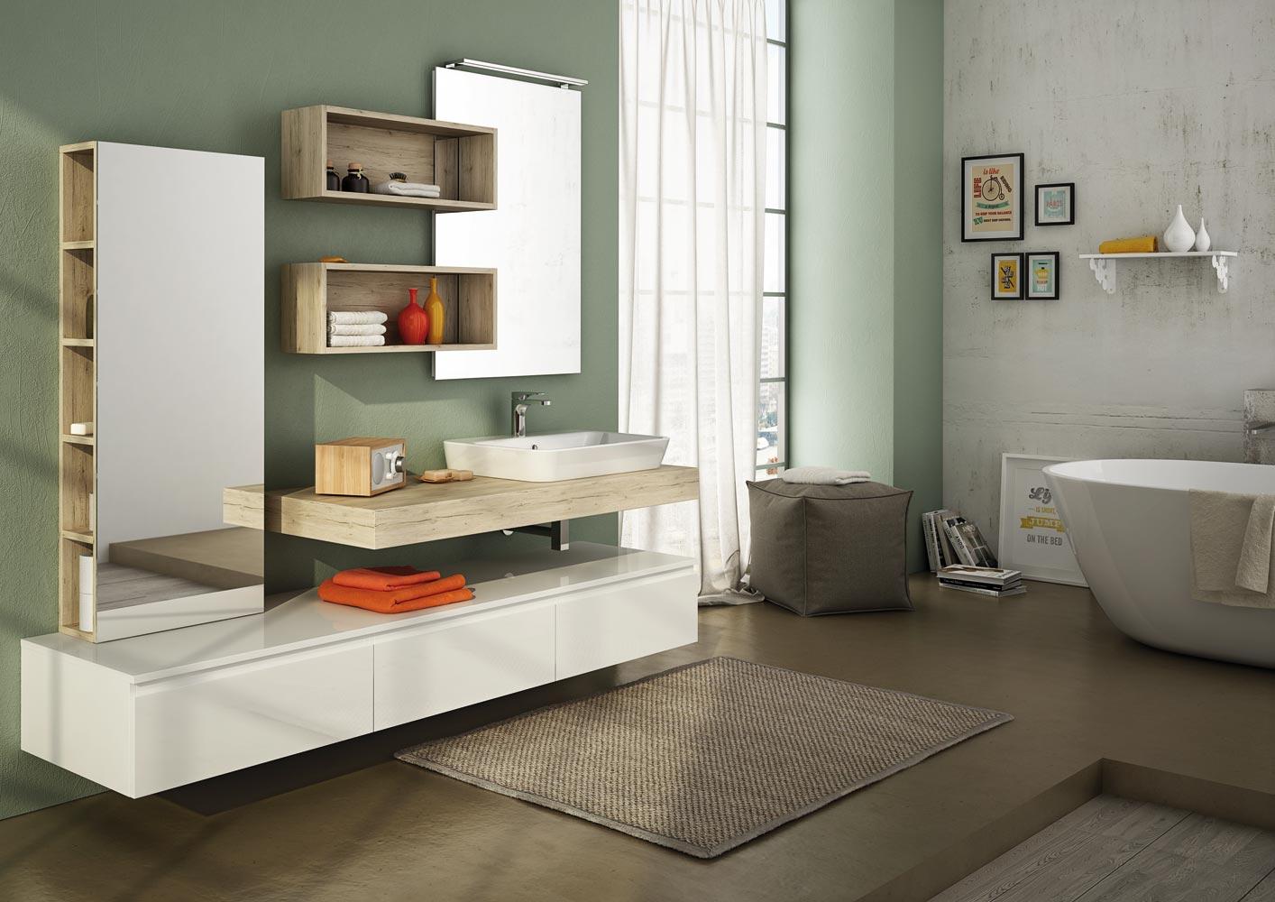 Houten Panelen Badkamer : Dafnedesign meubelontwerper badkamer met sluier grootte l