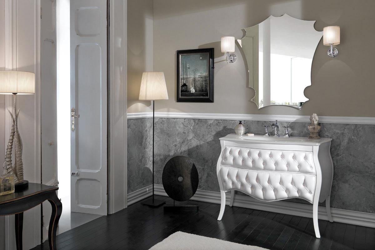 Mobili Da Bagno Bianco Lucido : Mobili da bagno a terra mobili per il bagno manhattan di berloni
