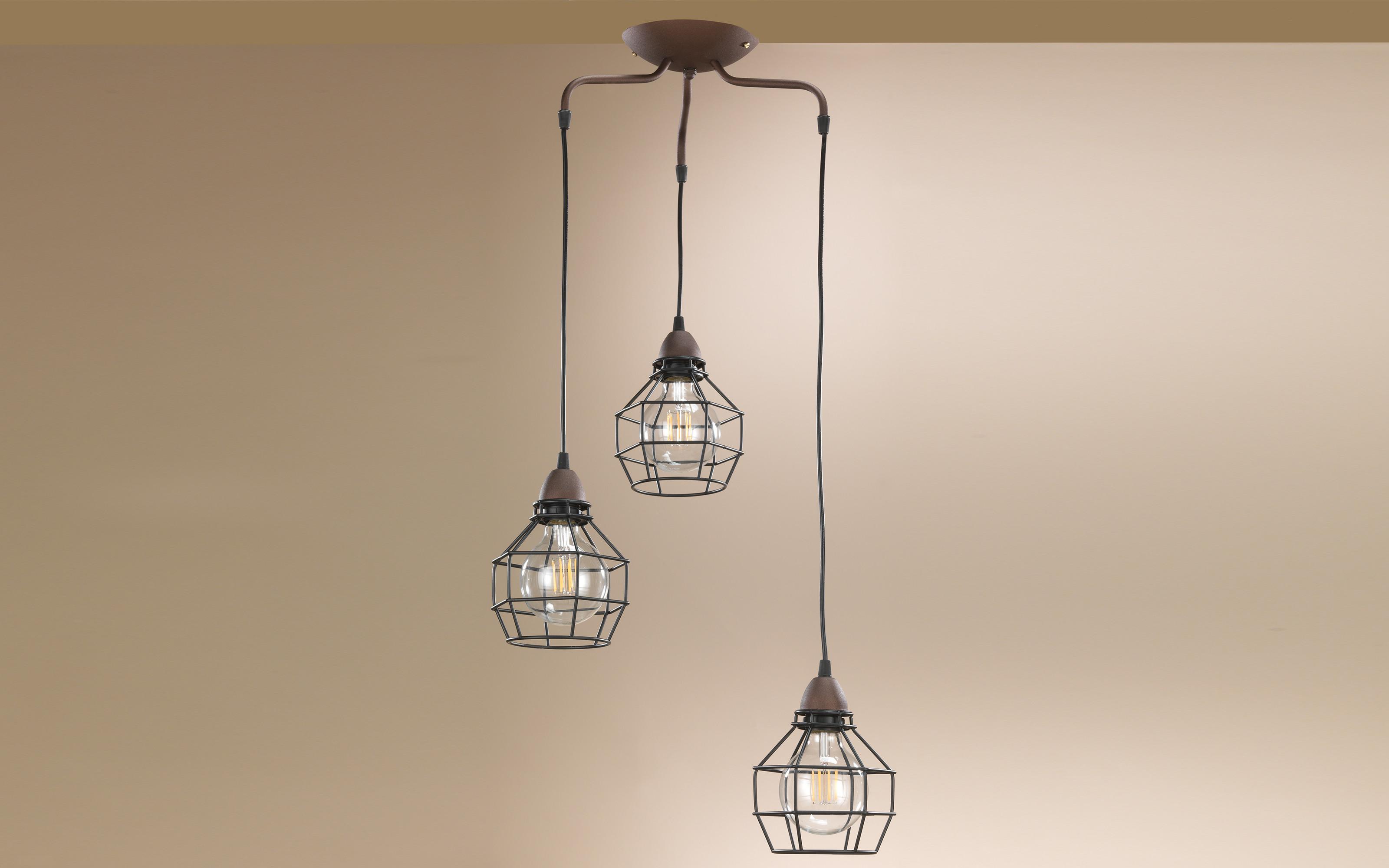 Plafoniere Con Lampadine : Lampadario plafoniera da soffitto a luci compatibile con
