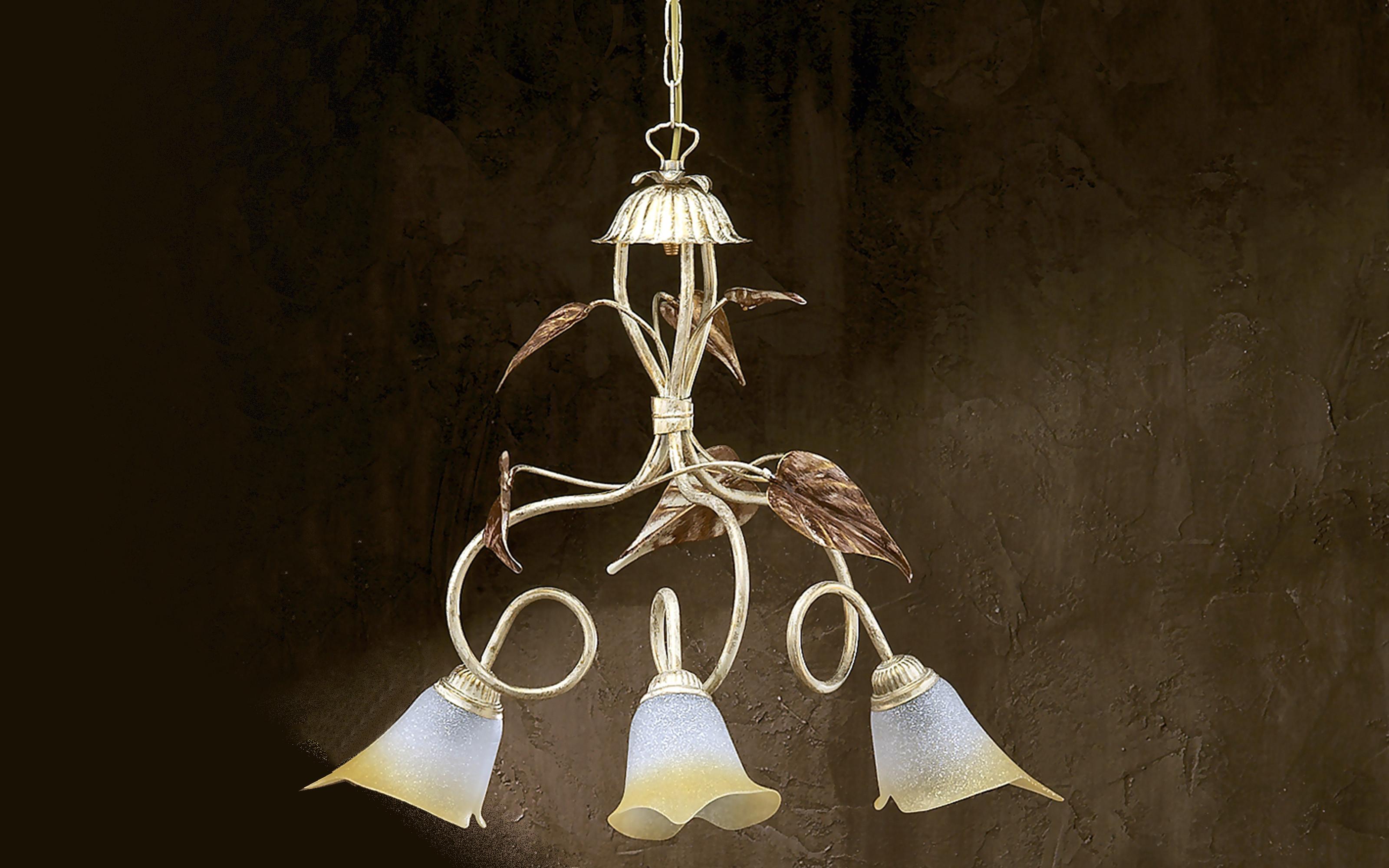 Lampadario rame lampadario tubi di rame lampadario for Beliani lampadari