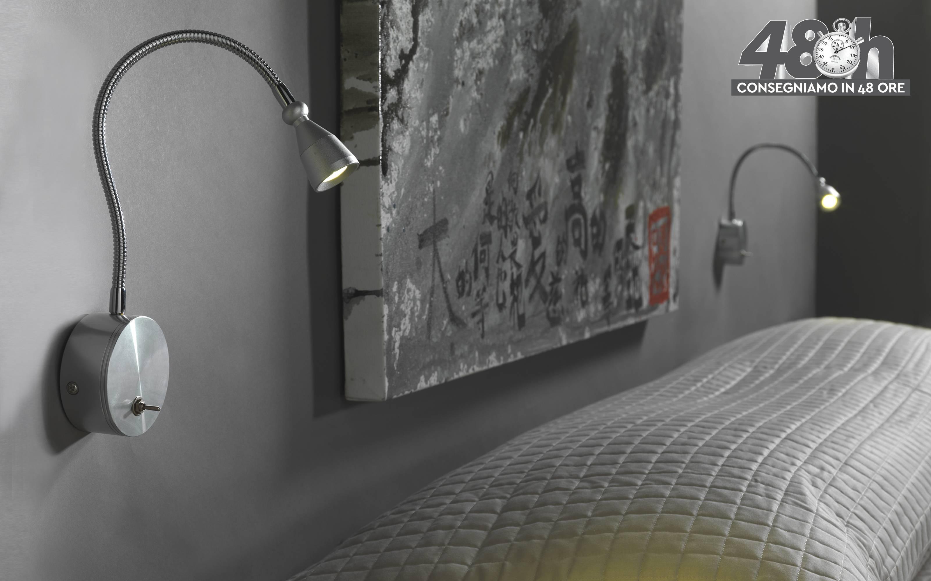 Applique flessibile compatibile con lampadina classe; a a a