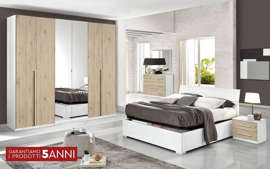Camera Completa - Effetto bianco larice, quercia naturale ...