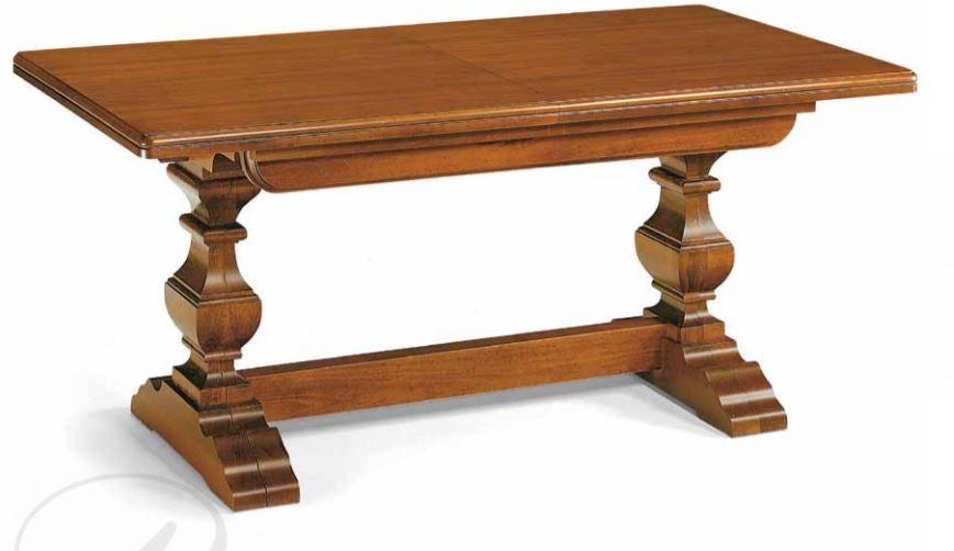 Tavoli Soggiorno Allungabili Classici.Tavolo Classico Allungabile In Noc Stile Classico Cm L 160 P