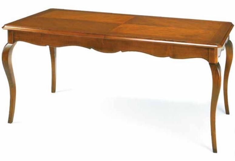Tavolo allungabile in noce , stile classico (cm. L. 160 P. 90 ) (TVG)