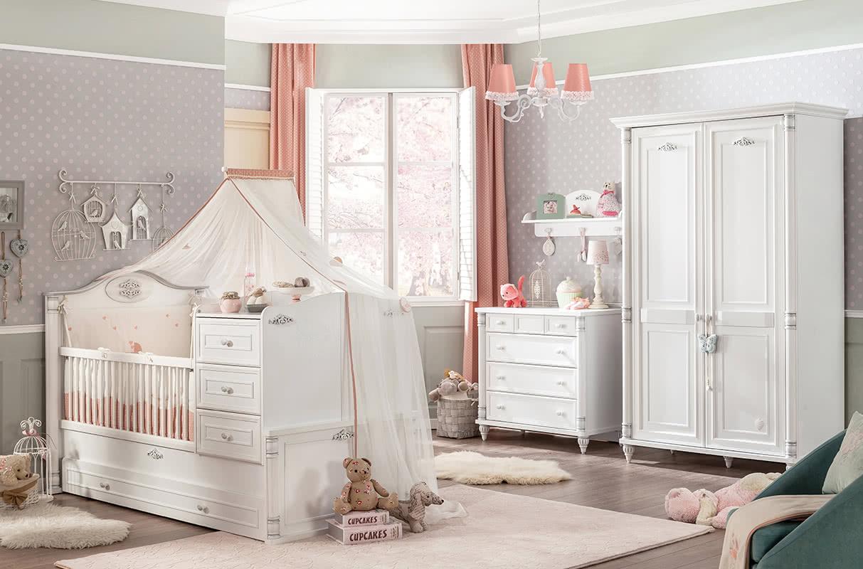 Η κρεβατοκάμαρα που μεγαλώνει με το μωρό σας