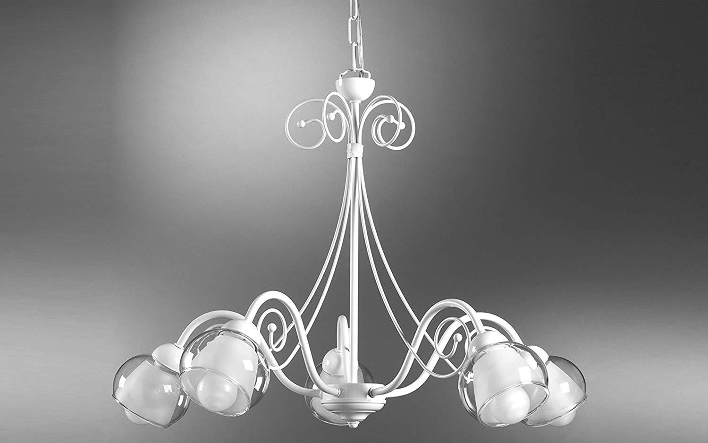 Kronleuchter Klein Shabby ~ Dafnedesign kronleuchter lichter weiß stil classic
