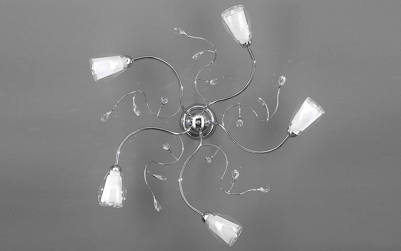 Plafoniere Da Soffitto Design : Dafnedesign lampadario plafoniera da soffitto a luci
