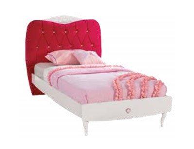 Letto completo da cameretta per ragazza o bambina letto ad una piazza - Letto singolo ragazza ...