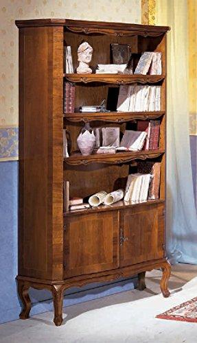 Libreria In Legno Noce.Dafnedesign Com Libreria Dimensioni L 101 P 37 H 145 Cm 2