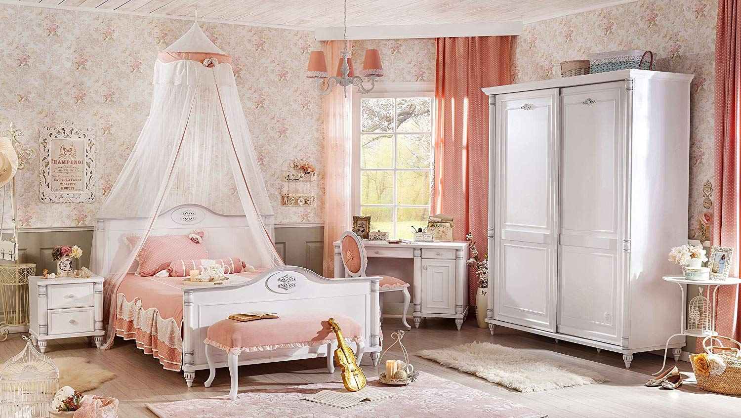 Dafnedesign.com - Children\'s bedroom - Composed by: Bed, canopy ...