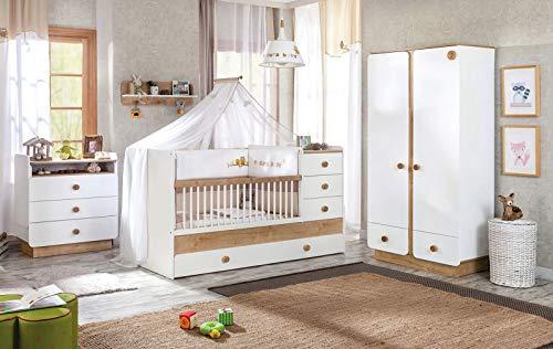 dafnedesigncom complete slaapkamer voor baby of kind inclusief een kinderbed een matras dekens en kussens een hemelbed een dressoir een plank