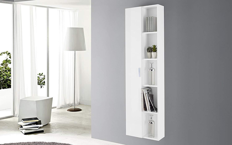 Dafnedesign.com - Colonna bagno bianco lucido - Colonna sospesa con ...