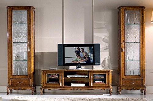 Dafnedesign.com – Composizione per salotto e soggiorno, colore legno ...