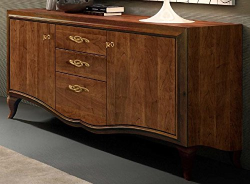 Credenza Con Cesti : Dafnedesign.com sideboard dunkle holzfarbe h. 100 x d. 54 l