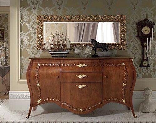 Dafnedesign.com – Credenza soggiorno, colore legno scuro ...