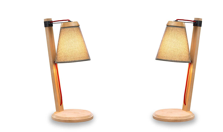 Dafnedesign.com – Due Lampade - Due abat jour da scrivania per una ...