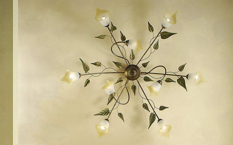 Plafoniere Da Design : Dafnedesign lampadario plafoniera da soffitto a luci