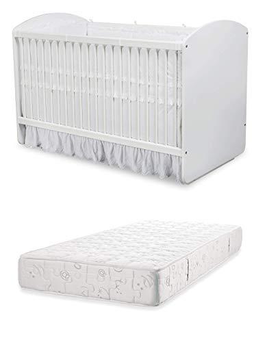 dafnedesigncom cot vroege jeugd slaapkamer voor pasgeboren of peuter een babybedje met veiligheidskooi met stokken inclusief een latex matras