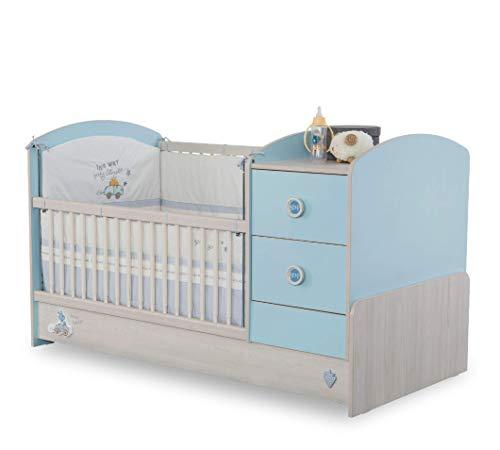 dafnedesigncom kinderbedje voor kinderen voor baby of kind slaapkamer een babybedje met bumpers en telescopische kooi van veiligheid de plank baby