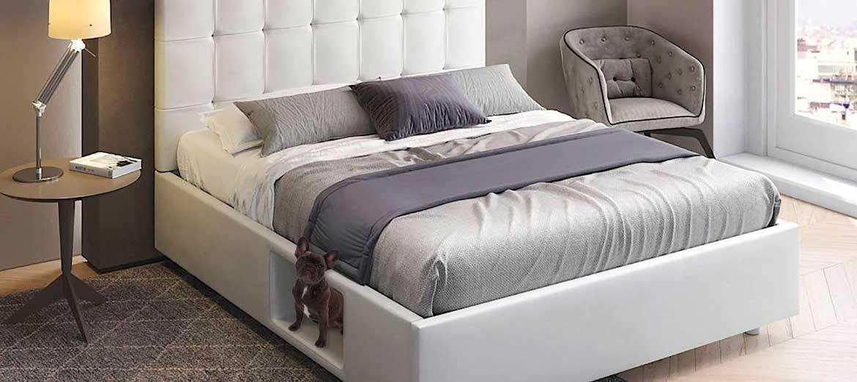 Dafnedesign Com Doppelbett Bau Bed Mit Gepolstertem Ablagefach