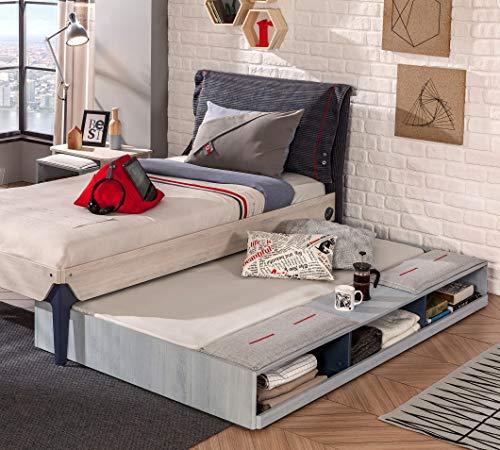 Dafnedesign.com – Letto una piazza e mezza con letto singolo ...