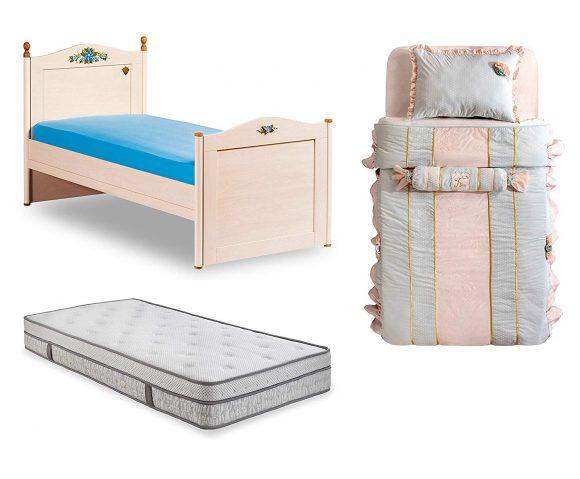 Dafnedesign.com letto completo da cameretta per ragazza o bambina