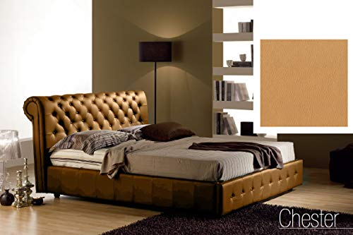 Letto Chester.Dafnedesign Com Bed And A Half Square With Padded Storage