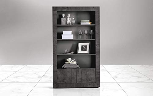 Dafnedesign.com - Bücherregal - Farbe: oxid - Die Türen mit den ...