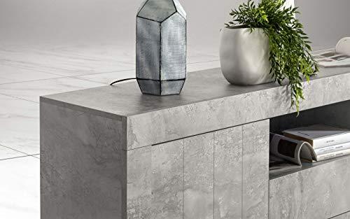 Credenza Moderna Cemento : Credenza bassa moderna images cucina