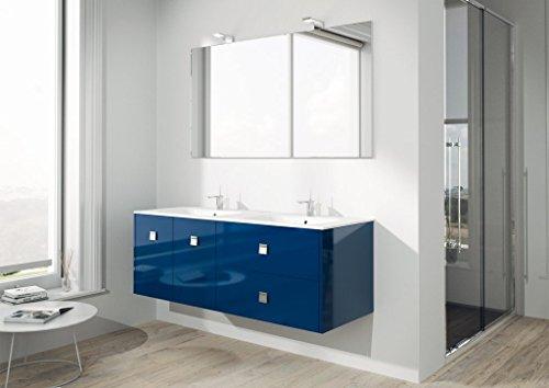 Dafnedesign.com - Mobile da bagno completo con doppio lavabo ...