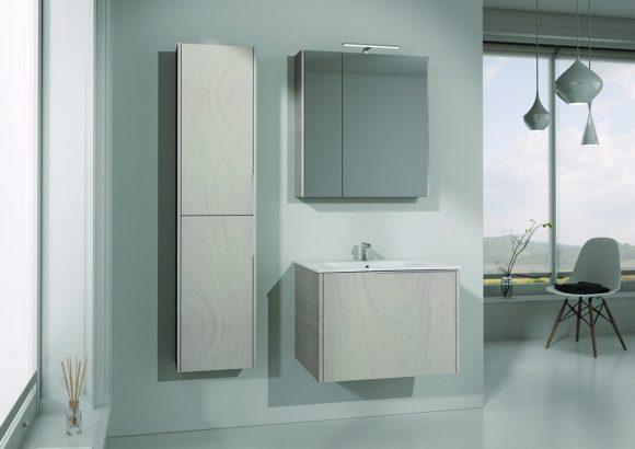 Dafnedesign meubilair badkamer met rechthoekige en