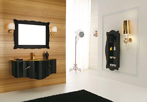 Dafnedesigncom mobile da bagno con cassetti e specchio - Specchio bagno con mobiletto ...