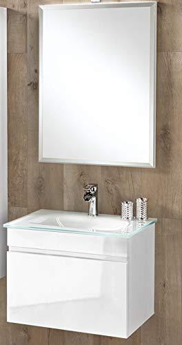 Dafnedesign.com - Mobile da bagno con lavabo sospeso - Componibile ...