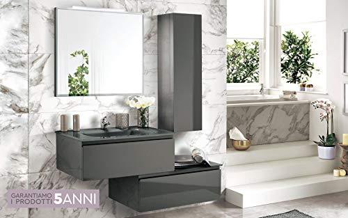 Dafnedesign.com mobile da bagno con lavabo sospeso componibile
