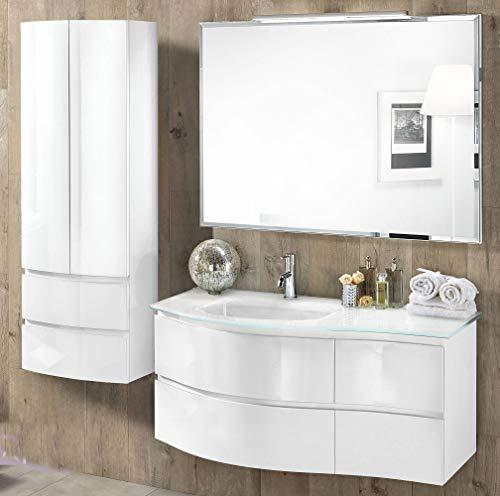 Mobile da bagno con lavabo sospeso - Componibile bagno sospeso 4 ...