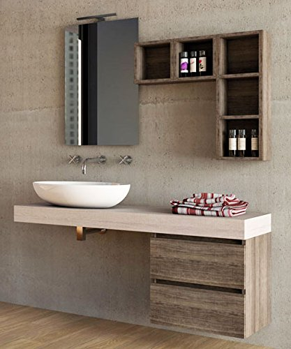 Mobile da bagno specchio con luci a led - Luci specchio bagno design ...