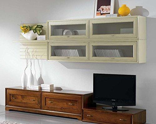 Dafnedesign.com – Parete componibile per soggiorno, colore legno ...