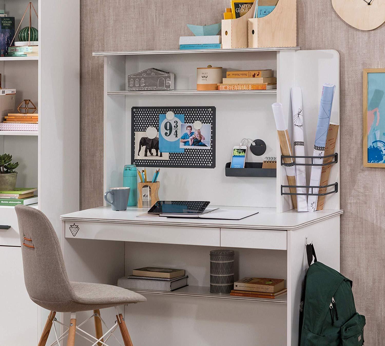 Dafnedesign.com – Parete studio da cameretta da bambino o ragazzo - Si  abbina ad una scrivania della stessa collezione - Adatto ad una camera da  letto ...
