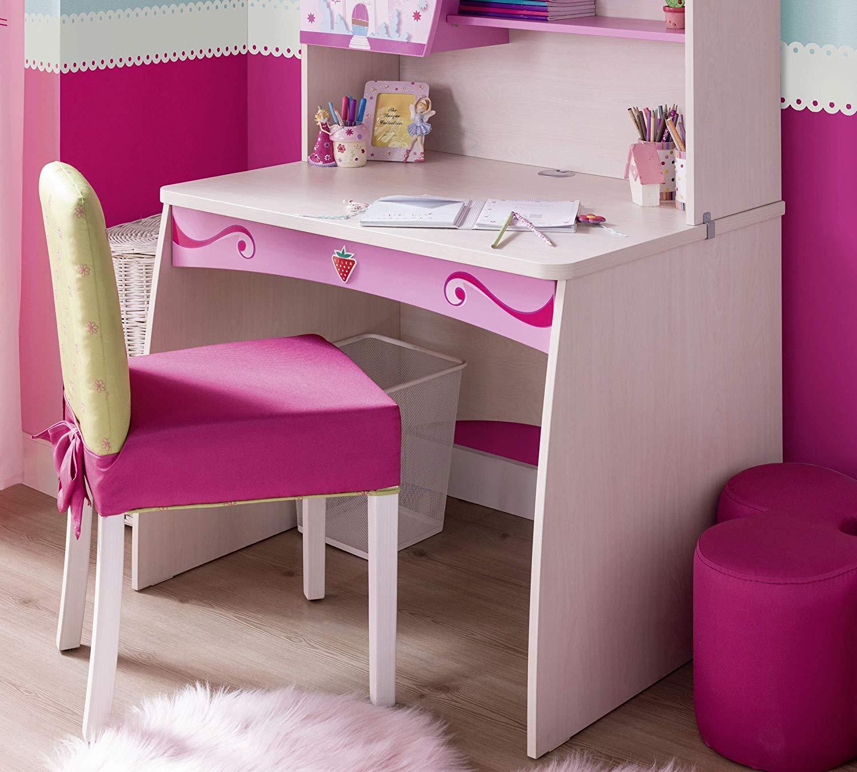 Scrivania e sedia per Cameretta per ragazza o bambina - Una Parete ...