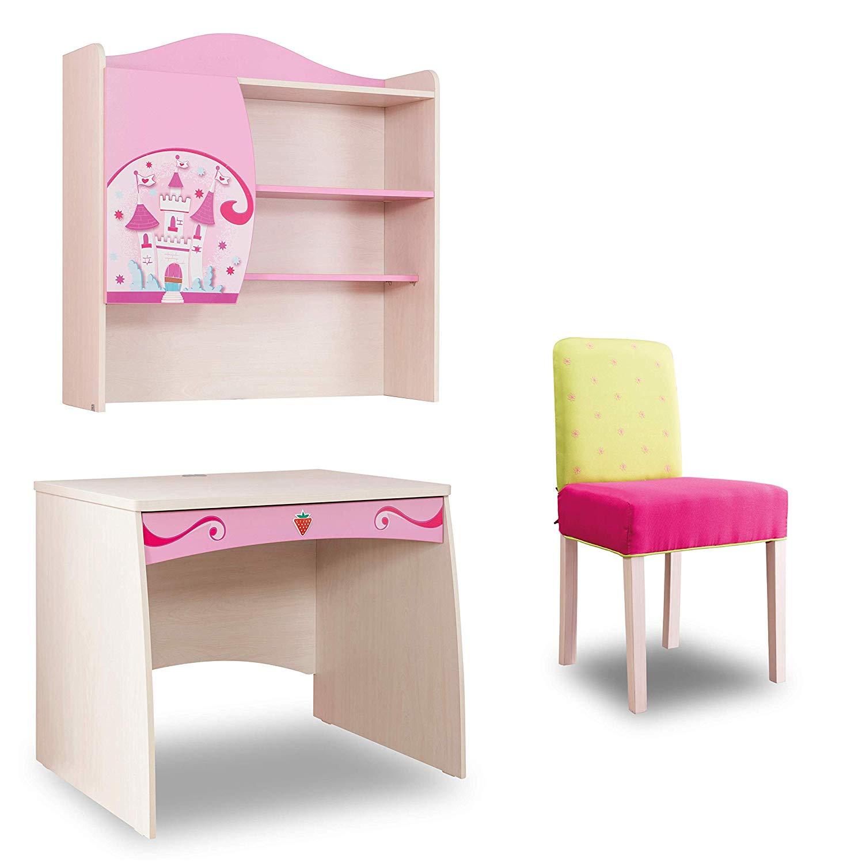 Dafnedesign.com - Scrivania e sedia per Cameretta per ragazza o ...