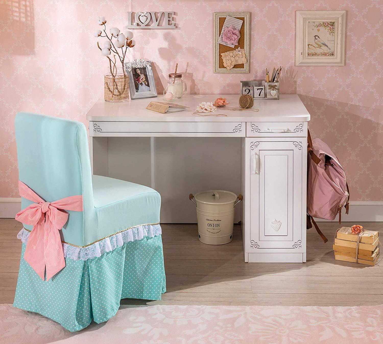 Dafnedesign.com - Scrivania per Cameretta per ragazza o bambina - Si ...
