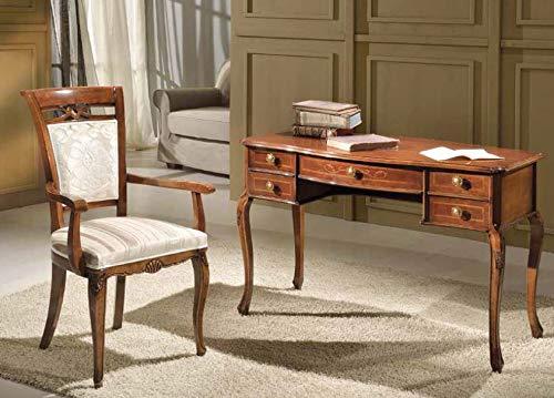 Dafnedesign ensemble de mobilier de bureau couleur bois