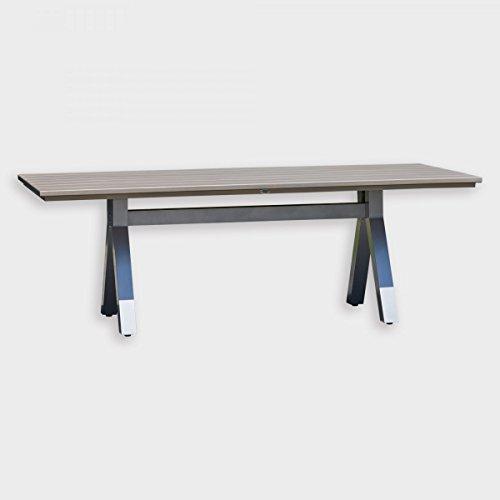 Tavolo da pranzo rettangolare da for Altezza tavolo pranzo