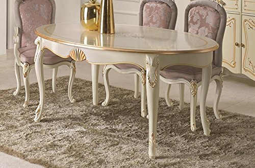 Dafnedesign.com – Tavolo ovale da soggiorno e sala da pranzo, colore ...