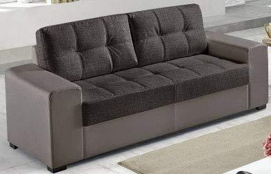 Dafnedesign Com 3 Sitzer Sofa Mit 2 Zierkissen Mit Abnehmbaren