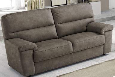 Dafnedesign Com 3 Sitzer Sofa Struktur Aus Kunstleder Farbe