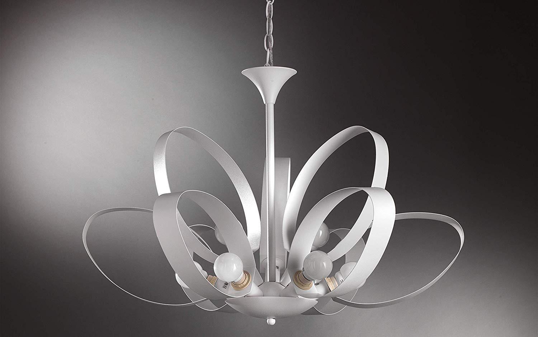 Dafnedesign.com - lampadario da cucina - colore bianco - Lampadario ...